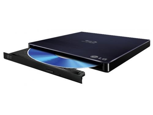 Оптический привод LG BP50NB40 (BD-RE / DVD±RW / CD-RW, slim), черный, вид 2