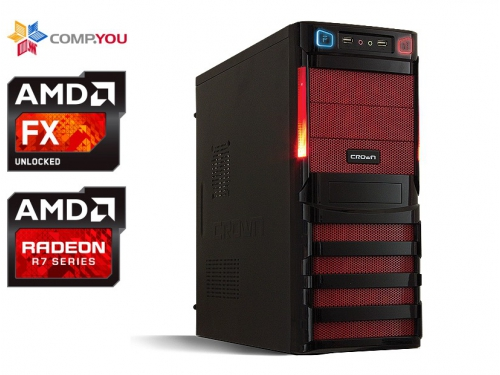 Системный блок CompYou Home PC H555 (CY.450341.H555), вид 1