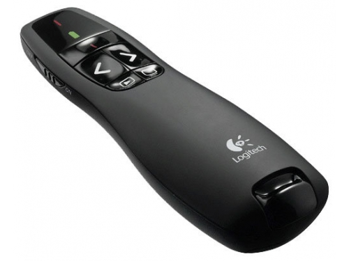Мышь Logitech Wireless Presenter R400, Черная, вид 1