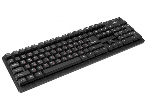Клавиатура SVEN Standard 301, Черная, вид 1
