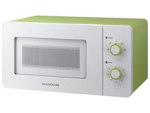 Микроволновая печь Daewoo KOR-5A17 белый/зеленый, вид 1
