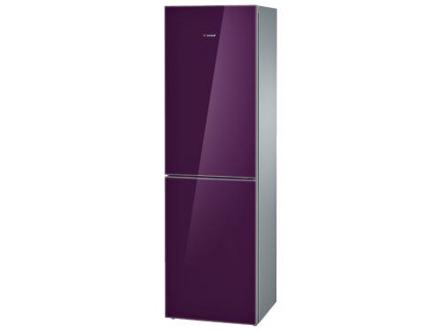 Холодильник Bosch KGN39LA10R металл, вид 1