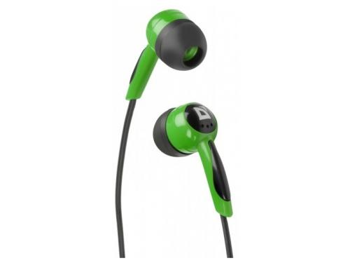 Наушники Defender BASIC 604 Чёрные/Зелёные, вид 1