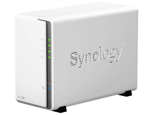 Сетевой накопитель Synology DS216se (для 2 дисков), вид 1