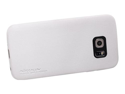 Чехол для смартфона Nillkin Victoria series для Samsung Galaxy S6 Edge Белый, вид 3