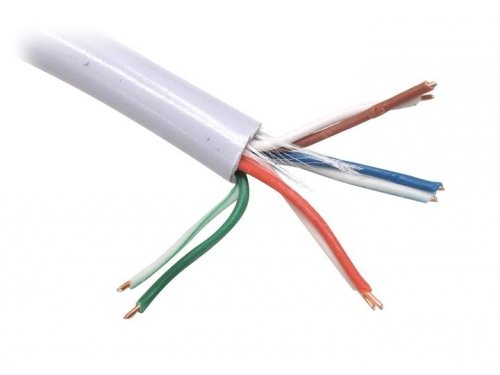 Кабель (шнур) Telecom Ultra TUS44148E UTP 4 пары 5E кат. (100м), вид 1