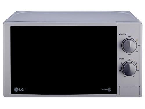 Микроволновая печь LG MS-2022DS серебристый, вид 1