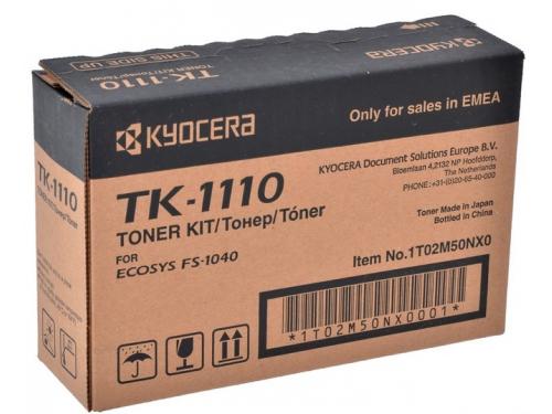 Картридж Kyocera TK-1110 Черный, вид 1