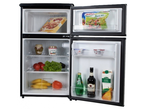 Холодильник Shivaki SHRF-90DP серебристый, вид 1