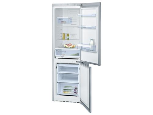 Холодильник Bosch KGN36VL14R серебристый, вид 1