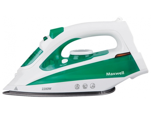 Утюг Maxwell MW-3036 G бело-зеленый, вид 1
