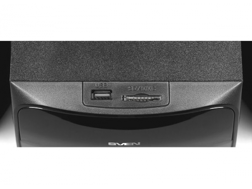Компьютерная акустика SVEN MS-307 (2.1 ch, USB, Bluetooth, SD/MMC, Пульт ДУ, FM), вид 5