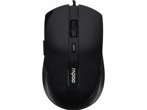 ����� Rapoo N3600 USB Black 2000 dpi, ��� 1