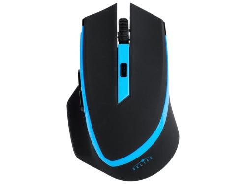 Мышка Oklick 630LW Black USB (радиоканал, 1600 dpi), вид 1