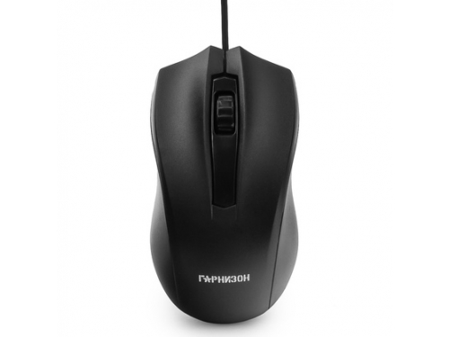 Мышь Гарнизон GM-115, черная, вид 3