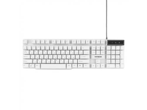Клавиатура Гарнизон GK-200 белый, вид 1