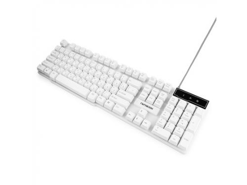 Клавиатура Гарнизон GK-200 белый, вид 2