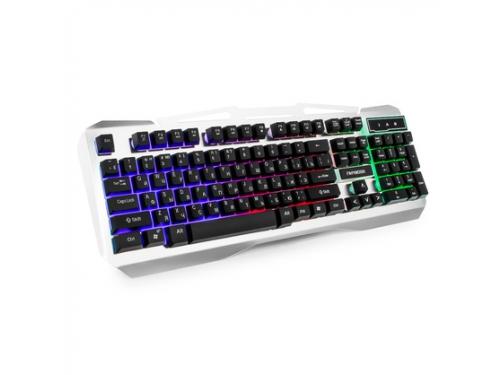 Клавиатура Гарнизон GK-500G черно-серая, вид 1