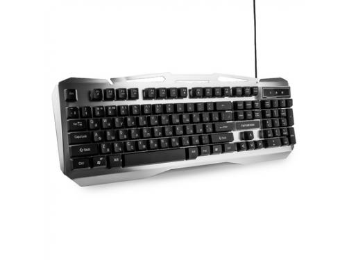 Клавиатура Гарнизон GK-500G черно-серая, вид 2