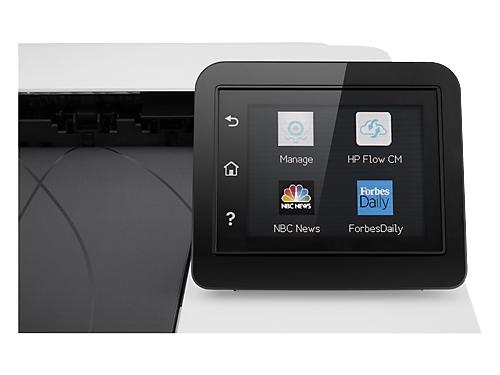 Лазерный ч/б принтер HP Color LaserJet Pro M252dw, белый, вид 2
