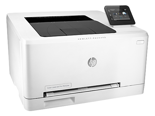 Лазерный ч/б принтер HP Color LaserJet Pro M252dw, белый, вид 3