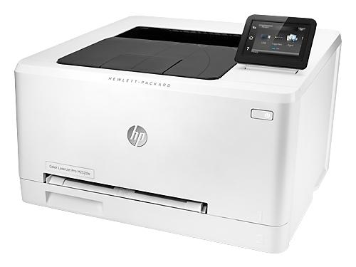 Лазерный ч/б принтер HP Color LaserJet Pro M252dw, белый, вид 4
