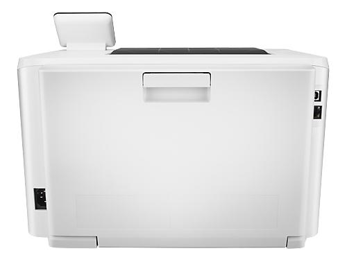 Лазерный ч/б принтер HP Color LaserJet Pro M252dw, белый, вид 5
