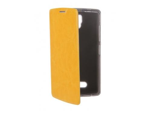 Чехол для смартфона SkinBOX Lux для Lenovo A2010 (T-S-LA2010-001) Жёлтый, вид 2