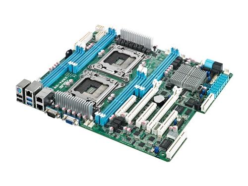 Материнская плата ASUS Z9PA-D8 Soc 2011 DP XEON, Intel C602, ATX, 8DIMM, вид 2