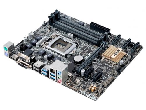 Материнская плата ASUS B150M-A D3 (mATX, LGA1151, Intel B150), вид 2