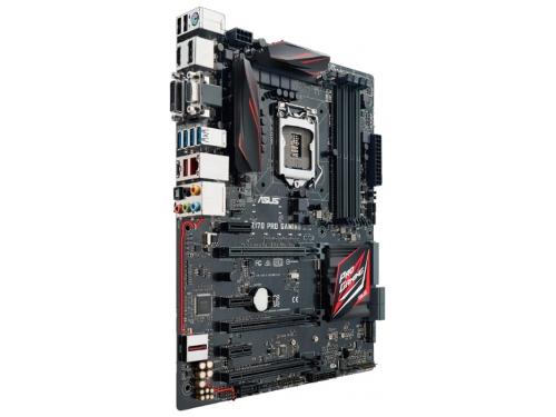 Материнская плата ASUS Z170 PRO GAMING Soc-1151 Z170 DDR4 ATX SATA3  LAN-Gbt USB3.0 DVi/HDMI/DP/VGA, вид 2