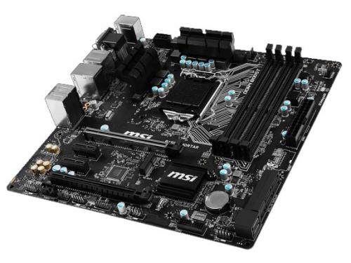 Материнская плата MSI B150M MORTAR (mATX, LGA1151, Intel B150), вид 3