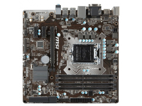 ����������� ����� MSI H170M PRO-VDH (mATX, LGA1151, Intel H170), ��� 1