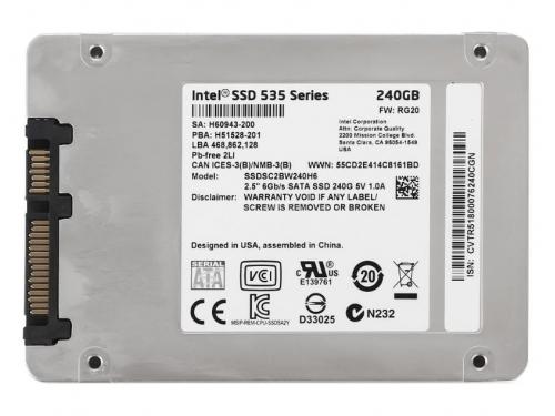 ������� ���� Intel SSDSC2BW240H601 (SSD 240 Gb, SATA3, 2.5'', 7 ��), ��� 2