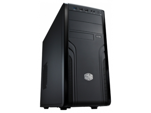 Корпус компьютерный Cooler Master CM Force 500 (FOR-500-KKN1) w/o PSU Black, вид 1
