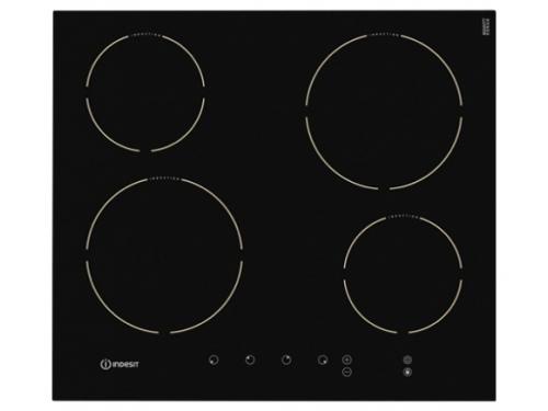 Варочная поверхность Indesit VRB 640 C (PT) черный, вид 1