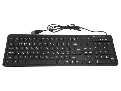 ���������� CROWN CMK-6002 (USB, 107 ������, ������), ��� 1