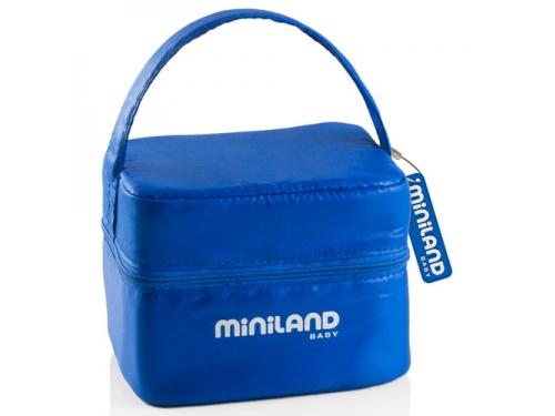 Товар для детей Термосумка Miniland Pack-2-Go-Hermifresh с 2 вакуумными контейнерами Синяя, вид 1
