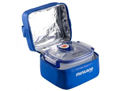 Товар для детей Термосумка Miniland Pack-2-Go-Hermifresh с 2 вакуумными контейнерами Синяя, вид 2