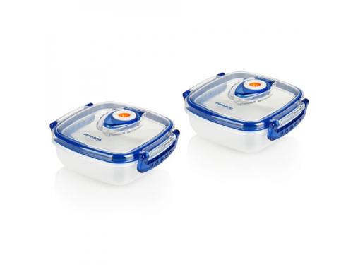 Товар для детей Термосумка Miniland Pack-2-Go-Hermifresh с 2 вакуумными контейнерами Синяя, вид 5