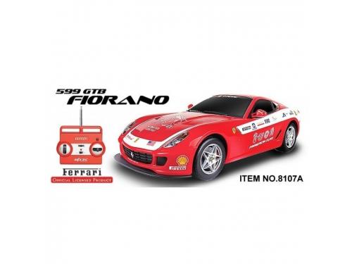 Радиоуправляемая модель MJX Ferrari 599 GTB Fiorano Panamerican 1/20 Red/White, вид 2