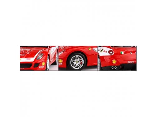 Радиоуправляемая модель MJX Ferrari 599 GTB Fiorano Panamerican 1/20 Red/White, вид 3