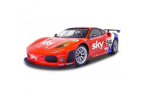 Радиоуправляемая модель MJX Ferrari F430 GT  #56, красная, вид 1