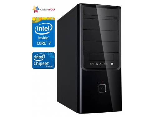 Системный блок CompYou Office PC W170 (CY.336848.W170), вид 1