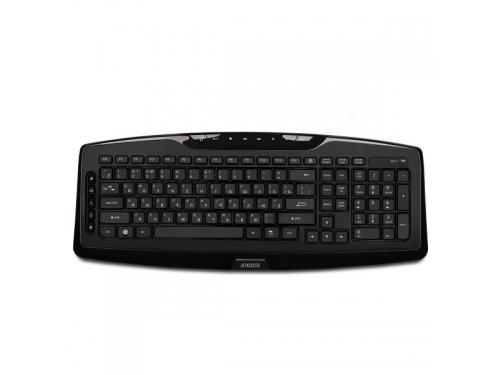 Клавиатура Jet.A SlimLine K17 W черная, вид 1