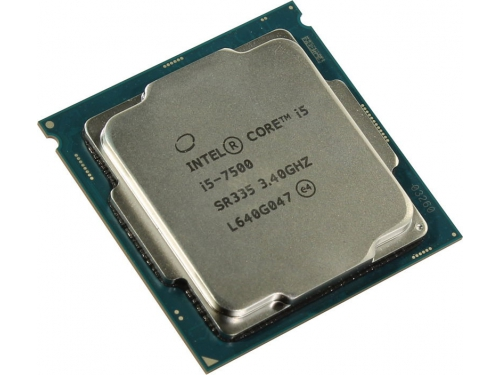 Процессор Intel Core i5-7500 Kaby Lake (3400MHz, LGA1151, L3 6144Kb, Retail), вид 3