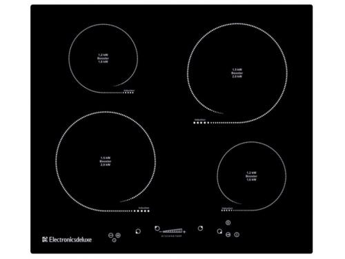 Варочная поверхность  Electronicsdeluxe 605304.01эви, черная, вид 1