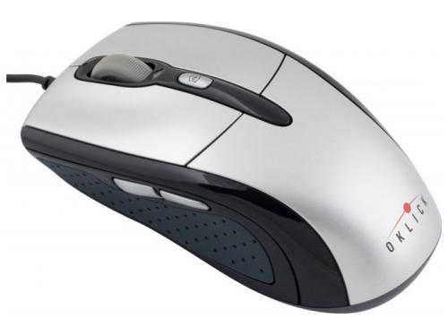 ����� Oklick 610L Silver-Black USB (1600 dpi), ��� 1