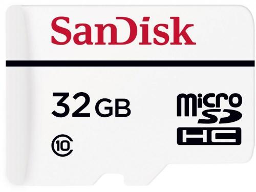 Карта памяти SanDisk MicroSDHC 32Gb class10 +SD адаптер, вид 1