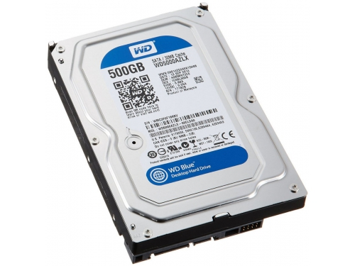 ������� ���� Western Digital Blue WD5000AZLX (500 Gb, 3.5'', SATA3, 7200rpm), ��� 7